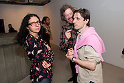 TASH AMINI; MARTIN CREED; JEREMY DELLER, George Condo: Mental States. Hayward Gallery. Southbank Rd. London. 17 October 2011. <br /> <br />  , -DO NOT ARCHIVE-© Copyright Photograph by Dafydd Jones. 248 Clapham Rd. London SW9 0PZ. Tel 0207 820 0771. www.dafjones.com.