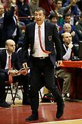 DESCRIZIONE : Milano Eurolega Euroleague 2013-14 EA7 Emporio Armani Milano Olympiacos Piraeus<br /> GIOCATORE : Luca Banchi<br /> CATEGORIA : Ritratto Delusione<br /> SQUADRA : EA7 Emporio Armani Milano <br /> EVENTO : Eurolega Euroleague 2013-2014<br /> GARA : EA7 Emporio Armani Milano Olympiacos Piraeus<br /> DATA : 09/01/2014<br /> SPORT : Pallacanestro <br /> AUTORE : Agenzia Ciamillo-Castoria/G.Cottini<br /> Galleria : Eurolega Euroleague 2013-2014  <br /> Fotonotizia : Milano Eurolega Euroleague 2013-14 EA7 Emporio Armani Milano Olympiacos Piraeus<br /> Predefinita :