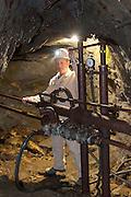 Besucherbergwerk der Graphit Kropfmühl AG, Hauzenberg, Bayerischer Wald, Bayern, Deutschland | mine museum Graphit Kropfmühl AG, Hauzenberg, Bavarian Forest, Bavaria, Germany