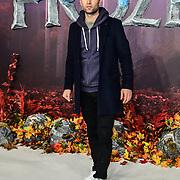 Harry Judd attend European Premiere of Frozen 2 on 17 November 2019, BFI Southbank, London, UK.