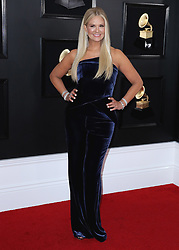 Kylie Jenner at the 61st Grammy Awards at Staples Center on February 10, 2019 in Los Angeles, California. (Photo by Xavier Collin/PictureGroup). 10 Feb 2019 Pictured: Nancy O'Dell. Photo credit: Xavier Collin / MEGA TheMegaAgency.com +1 888 505 6342