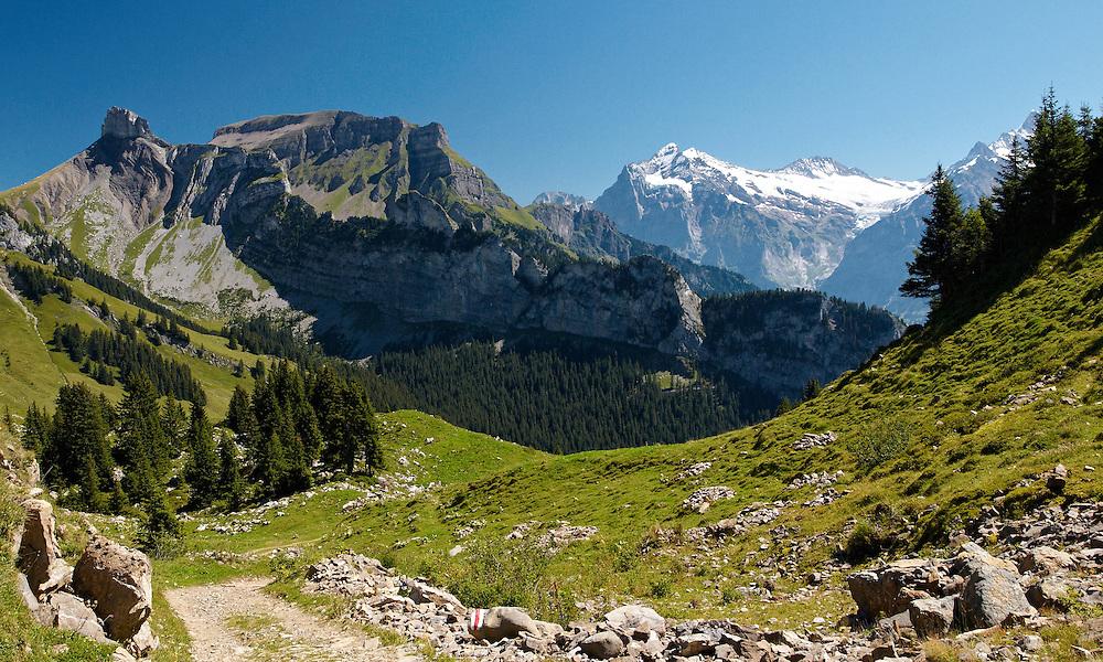 Switzerland - Faulhornweg view