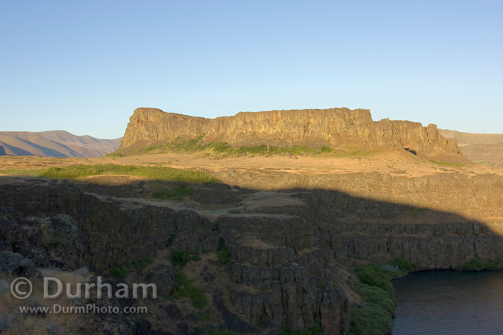 Horsethief Butte, part of Columbia Hills State Park on the Washington side of the Columbia River Gorge National Scenic Area.