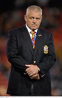 11 June 2013; British & Irish Lions head coach Warren Gatland. British & Irish Lions Tour 2013, Combined Country v British & Irish Lions, Hunter Stadium, Newcastle, NSW, Australia. Picture credit: Stephen McCarthy / SPORTSFILE