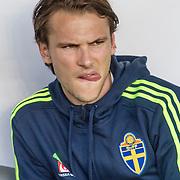 Malmö  2016 05 30 Swedbank stadion<br /> Practice game at Swedbank Stadion<br /> Sweden vs Slovenia<br /> Albin Ekdal<br /> <br /> <br /> <br /> ----<br /> FOTO : JOACHIM NYWALL KOD 0708840825_1<br /> COPYRIGHT JOACHIM NYWALL<br /> <br /> ***BETALBILD***<br /> Redovisas till <br /> NYWALL MEDIA AB<br /> Strandgatan 30<br /> 461 31 Trollhättan<br /> Prislista enl BLF , om inget annat avtalas.