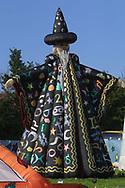 Wizard Figure, Glastonbury Festival, Somerset, Britain - 28 June 2003.
