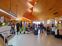 Puerto Natales Regional Airport Terminal. Snapshot taken with a Leica D-Lux 5 camera (ISO 250, 5.1 mm, f/2, 1/60 sec).