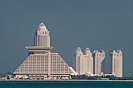= the new sky scrappers area in west bay  Doha  QATAR   /// nouveau quartier des gratte-ciel a west bay  Doha  QATAR  +