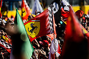September 3-5, 2015 - Italian Grand Prix at Monza: Podium celebrations at Monza