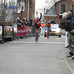 Energiewacht Tour junior women stage 1 Amy Hill wins 1th stage Energiewacht Tour in Appingedam