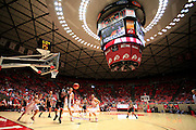 during the second half of an NCAA college basketball game in Salt Lake City, Utah, Saturday, March. 5, 2011. (AP Photo/Colin E Braley)