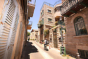 Nachlaot is a cluster of neighborhoods in central Jerusalem, Israel known for its narrow, winding lanes, old-style housing, hidden courtyards and many small synagogues.