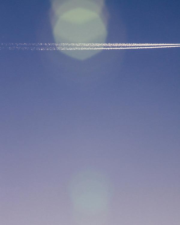 Jet Stream in the sky