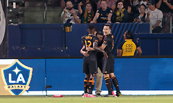June 17, 2017 - Carson, CA, USA - Carson, CA - Saturday June 17, 2017: The Los Angeles Galaxy and the Houston Dynamo played to a 2-2 draw in a Major League Soccer (MLS) game at StubHub center. (Credit Image: © Michael Janosz/ISIPhotos via ZUMA Wire)