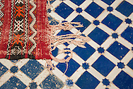 Mosaic Tilework, Fes el Bali, Fes, Morocco