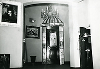 1955 Lobby of the Mocambo Nightclub on Sunset Blvd. in West Hollywood