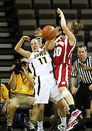 NCAA Women's Basketball - Wisconsin v Iowa - February 19, 2009