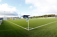 General View of Balmoral Stadium during the Betfred Scottish League Cup match between Cove Rangers and Hibernian at Balmoral Stadium, Aberdeen, Scotland on 10 October 2020.