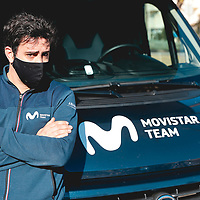 Gary Baños. 2021 Movistar Team Training Camp, Almería. 15.1.2021.