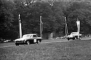 16/09/1967<br /> 09/16/1967<br /> 16 September 1967<br /> Phoenix Park Motor Racing, Kingsway Trophy Race, sponsored by Player and Wills (Ireland) Limited. <br /> Image shows H. McGarrity's MGB (37) and G.W. Drew's A-H Sprite (39).
