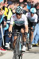 Michal Kwiatkowski during the UCI World Tour, Tirreno-Adriatico 2018, Stage 5, Castelraimondo to Filottrano, in Italy, on March 11, 2018 - Photo Laurent Lairys / ProSportsImages / DPPI