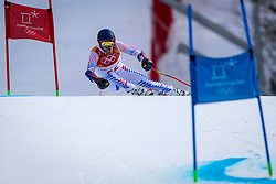 18-02-2018 KOR: Olympic Games day 9, Pyeongchang<br /> Alpine Skiing Men's Giant Slalom at Yongpyong Alpine Centre / Tommy Ford of the United States