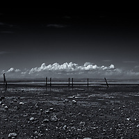 Dungeness Landing, Sequim, WA<br /> editted & converted to B&W 5/23/18, printed5/31/18