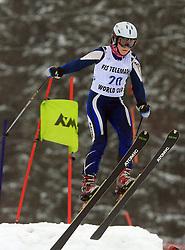 Elina Niemi of Finland at FIS Telemark World Cup Kobla 2009 race,  on January 18, 2009, in Kobla, Bohinj, Slovenia.  (Photo by Vid Ponikvar / Sportida)