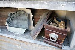 Open Casket With Bones Visible, La Recoleta Cemetery