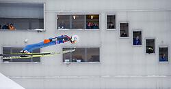 31.12.2014, Olympiaschanze, Garmisch Partenkirchen, GER, FIS Ski Sprung Weltcup, 63. Vierschanzentournee, Qualifikation, im Bild Kamil Stoch (POL) // during qualification Jump of 63rd Four Hills Tournament of FIS Ski Jumping World Cup at the Olympiaschanze, Garmisch Partenkirchen, Germany on 2014/12/31. EXPA Pictures © 2014, PhotoCredit: EXPA/ JFK