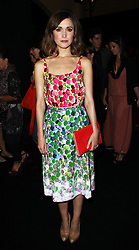 Rose Byrne  at the Marc Jacobs show  at  New York Fashion Week, Monday, 10th  September 2012. Photo by: Stephen Lock / i-Images