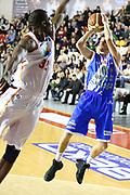 DESCRIZIONE : Roma Campionato Lega A 2013-14 Acea Virtus Roma Banco di Sardegna Sassari<br /> GIOCATORE :  Travis Diener<br /> CATEGORIA : tiro equilibrio<br /> SQUADRA : Banco di Sardegna Sassari<br /> EVENTO : Campionato Lega A 2013-2014<br /> GARA : Acea Virtus Roma Banco di Sardegna Sassari<br /> DATA : 26/12/2013<br /> SPORT : Pallacanestro<br /> AUTORE : Agenzia Ciamillo-Castoria/M.Simoni<br /> Galleria : Lega Basket A 2013-2014<br /> Fotonotizia : Roma Campionato Lega A 2013-14 Acea Virtus Roma Banco di Sardegna Sassari <br /> Predefinita :