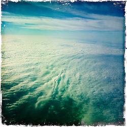 Morning light on the  Air France AF 5483 <br /> flight from Amsterdam to Strasbourg, France, on 20th November. All images taken on an iPhone5 using the Hipstamatic photo app.