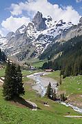 Soustal mit Spaltenhorn und Sous Bach