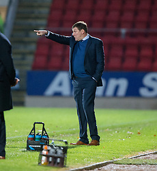 St Johnstone manager Tommy Wright. St Johnstone 2 v 4 Ross County. SPFL Ladbrokes Premiership game played 19/11/2016 at St Johnstone's home ground, McDiarmid Park.