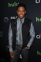 October 8, 2016 - New York, NY, USA - October 8, 2016  New York City..Jon Michael Hill attending The Paley Center for Media presents PaleyFest: Made in NY with the cast of 'Elementary' on October 8, 2016 in New York City. (Credit Image: © Callahan/Ace Pictures via ZUMA Press)