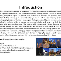 This photo guide compiles to the point photo tips for better cityscape photography at all times of the day and year. The e-book provides info on camera gear and where, how and when to capture skyline photography images. The importance of light is discussed and the behind the shot sections talk about circumstances, technique, settings and post processing work flows. It all rounds up with a list of the 20 best Boston photography locations and a cheat sheet for your next city photo adventure.