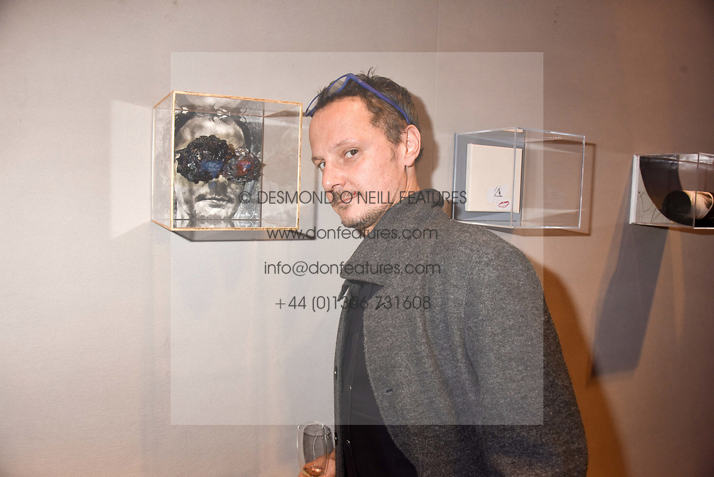 Jonathan Yeo at CURE³ - private view in aid of The Cure Parkinsons Trust held at Bonhams, 101 New Bond Street, London England. 13 March 2017.