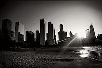 Chicago Skyline from Olive Park