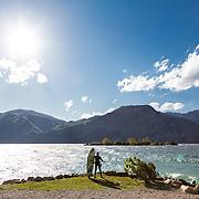 Malcesine Lago di Garda vento da nord