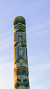 totem Pole, Parliment Building, Victoria, Harbor, Vancouver Island, Brithish Columbia, Canada