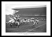 Great action shot of the Irish rugby team. Irish Photo Archive has thousands of images of Irish Sport. Great photo gift idea for someone that is interested in sports especially Irish sports.