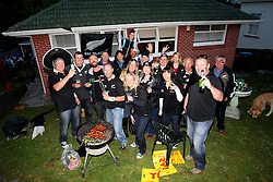 © Andrew Fosker / Seconds Left Images 2011 - All Blacks fans fire up the barbeque & start the party  in a house outside Eden Park France v New Zealand - Rugby World Cup 2011 - Final - Eden Park - Auckland - New Zealand - 23/10/2011 -  All rights reserved..