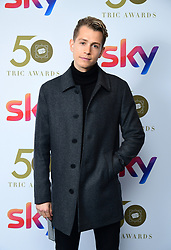 James McVey attending the TRIC Awards 2019 50th Birthday Celebration held at the Grosvenor House Hotel, London.