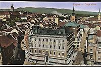 Zagreb : Duga ulica. <br /> <br /> ImpresumZagreb : 1931.<br /> Materijalni opis1 razglednica : tisak ; 8,6 x 13,9 cm.<br /> Mjesto izdavanjaZagreb<br /> Vrstavizualna građa • razglednice<br /> ZbirkaGrafička zbirka NSK • Zbirka razglednica<br /> Formatimage/jpeg<br /> PredmetZagreb –– Ulica Pavla Radića<br /> SignaturaRZG-RADI-5<br /> Obuhvat(vremenski)20. stoljeće<br /> NapomenaRazglednica nije putovala.<br /> PravaJavno dobro<br /> Identifikatori000954647<br /> NBN.HRNBN: urn:nbn:hr:238:779950 <br /> <br /> Izvor: Digitalne zbirke Nacionalne i sveučilišne knjižnice u Zagrebu