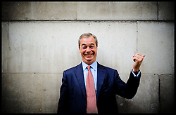 Profile Portraits of the Ukip Leader Nigel Farage in Westminster, London, United Kingdom. Thursday, 29th August 2013. Picture by Andrew Parsons / i-Images