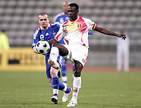 Fotball<br /> Frankrike A v Mali<br /> 25.03.2008<br /> Foto: DPPI/Digitalsport<br /> NORWAY ONLY<br /> <br /> FOOTBALL - FRIENDLY GAMES 2007/2008 - 25/03/2008 - FRANCE A' v MALI - MAHAMADOU DIARRA (MAL) / JEROME ROTHEN (FRA)