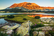 Scenery sunset from Pirin Mountain