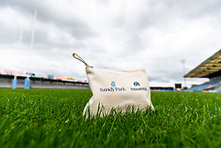 Thermogel hand sanitizing products at Sandy Park during the Covid-19 pandemic - Rogan/JMP - 19/06/2020 - RUGBY UNION - Sandy Park - Exeter, England - Gallagher Premiership.