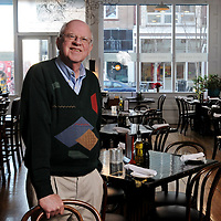 Profile of Roy Clifton, longtime local restauratuer and owner of Caffe Phoenix. Photo by Mike Spencer